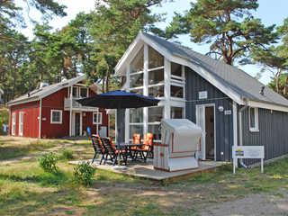 Strandpark Baabe F570 strandnahes Haus 224 mit Terrasse Das Haus 224 im Strandpark Baabe im Ostseebad B...