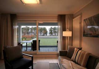 Ferienwohnung 104RB118, Haus Meersinn Ausblick vom Wohnzimmer
