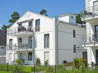 Residenz Margarete F596 WG 1.3 mit Terrasse mit Strandkorb Residenz Margarete im Ostseebad Binz