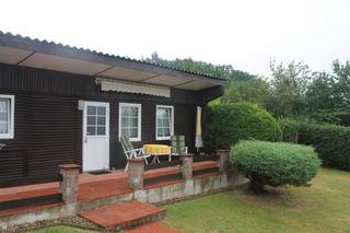Ferienhaus Flach kleines Ferienhaus mit Terrasse