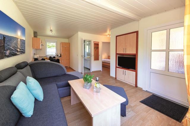 Terrassenhaus Wohnzimmer Küche Bad Schlafzimmer