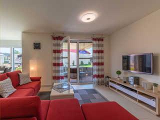 Leonie in der Hafenresidenz 4**** Stilvoll eingerichtetes Wohnzimmer in der Hafen...