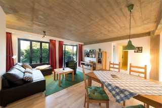 Strandresidenz-Appartement Prachttaucher V17 in Prora Wohnbereich