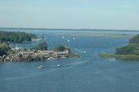 Ferienwohnungen am Wasserturm Blick vom Turm auf die Müritz