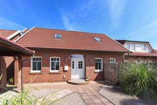 Haus Friesische Weite im Wangerland Außenansicht