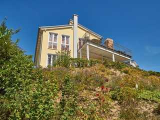 Villa Sommerwind F 583 WG 01 mit Dachterrasse + Sauna Villa Sommerwind im Ostseebad Sellin Hausansicht