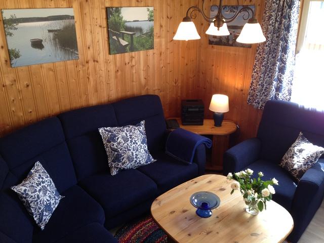 Villa Bunterkunt: Blick Ins Wohnzimmer