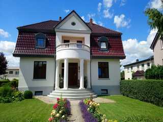 Moltke-Villa Eingangsbereich