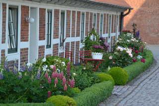 Ferienwohnung im Altländer Bauernhaus Außenansicht