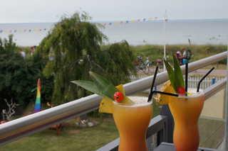 Störtebeker Suite Blick auf die Ostsee