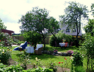 Ferienhaus Gundelrebe Garten Haus Gundelrebe