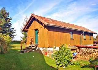 Ferienhaus mit 3 Schlafräumen Thomsdorf SEE 10261 Blick auf das Ferienhaus