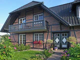 Haus Gode Tied F 555 Wohnung 1 im EG mit Terrasse Haus Gode Tied Hausansicht