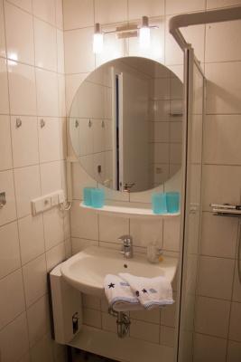 Bad mit Spiegelheizung