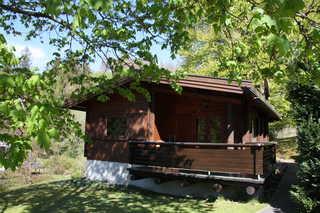 Ferienblockhaus Breyel - SORGENFREIES REISEN* Außenansicht West