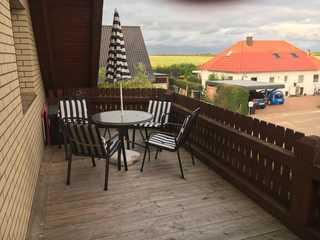 Ferienwohnung 78422 Balkon