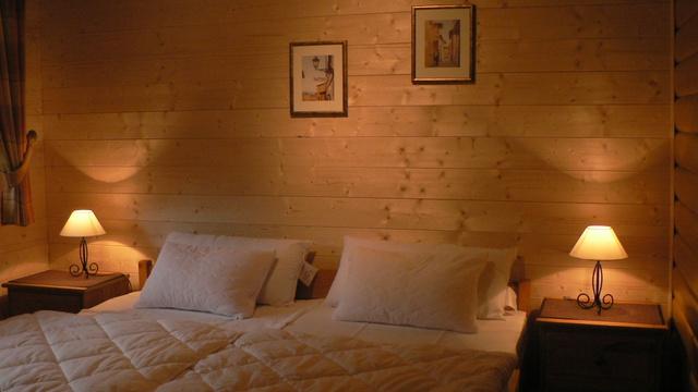 Schlafzimmer bei Nacht