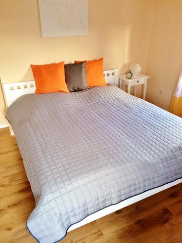 Schlaffzimmer 1 mit Doppelbett 180x200 cm