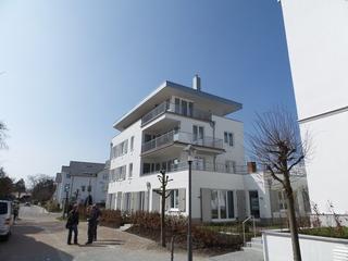 Strandhaus Seeblick 12, strandnah, Garten, WLAN, 2 Schl-Zim. Ansicht auf das Objekt von der Strandseite aus