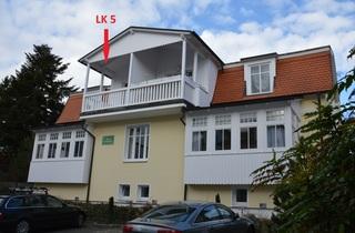 Ferienwohnung Haus Liebeskind 80 im Ostseebad Binz auf Rügen Balkon der Wohnung