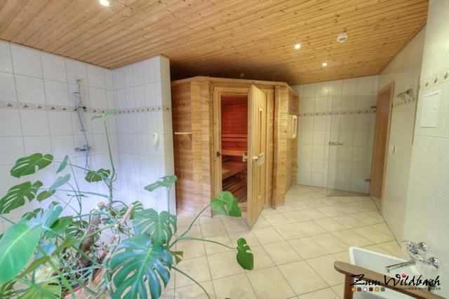...unsere Sauna, hier ist schwitzen angesagt....