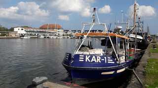 Großer Hafentraum Die maitime Anlage auf der Gegenseite