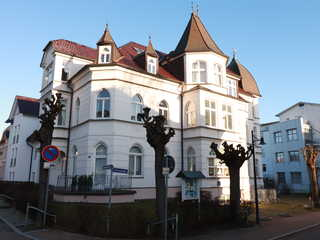 Türmchenzimmer Schloß Hohenzollern von der Ritterstraße vorne