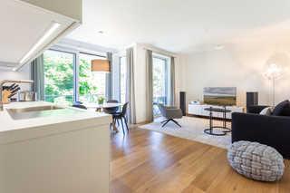 Villa Vogue - Greta´s Beach Home | Sauna & Meerblick offener Wohn- und Essbereich
