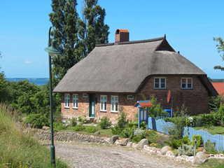 Ferienhaus Bobbin Ferienhaus Hanna von vorn