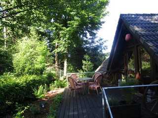 Ferienhaus im Grünen Eingang zum Gästehaus