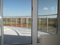 Nordseeblick Cuxhaven Dachterrasse (einmal ohne Möbilierung)