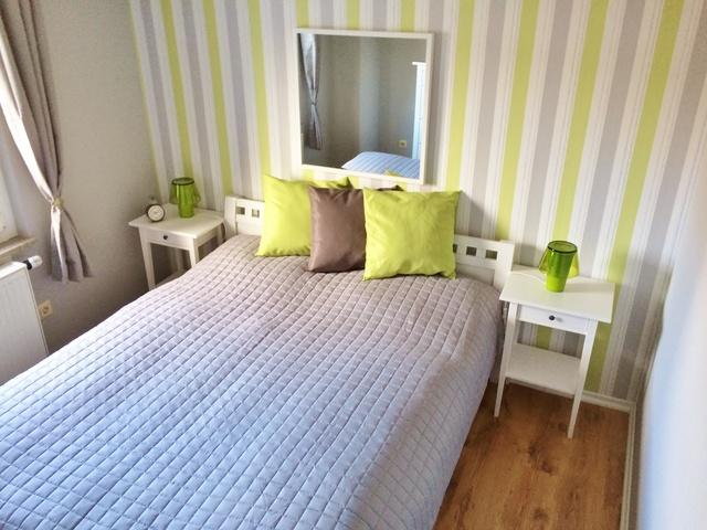 Schlafzimmer 2 mit Doppelbett 160x200 cm