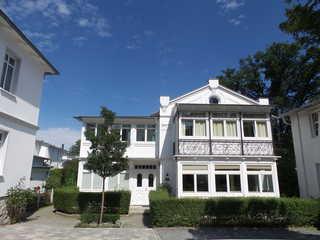 Ferienwohnung Villa Ravensberg im Ostseebad Binz auf Rügen Hausansicht