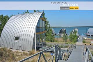 Haus LAKOMA Blick zum Ferienhaus Lakoma und zum Geierswalde...