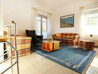 Villa Seegarten Whg. Seg01 Villa Seegarten Whg. Seg01 - Blick auf den gemü...