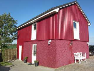 Rotes Atelierhaus Außenansicht des Roten Atelierhauses