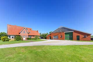Ferienhof Heinen in Elisabethgroden Außenansicht