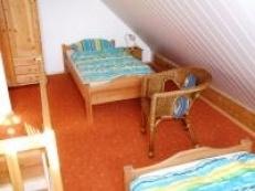 Fewo Obergeschoss im Spitzboden mit 2 Einzelbetten