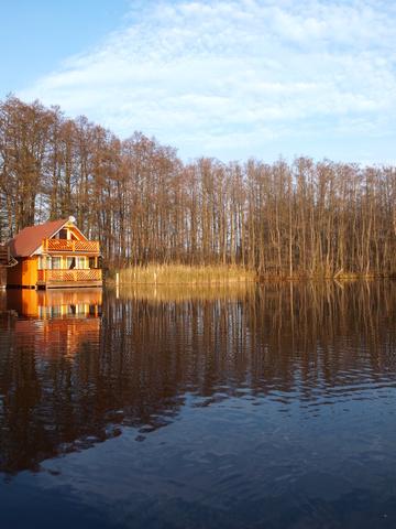 Bootshaus Wasseransicht