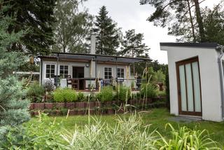Ferienhaus für Rollstuhlfahrer Warenthin SEE 8841 Außenansicht Ferienhaus