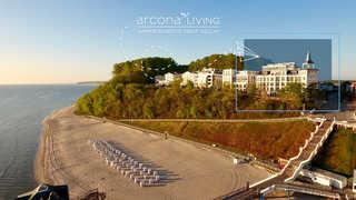 Meerblick FIRST SELLIN 89 m² - A.25 Außenansicht arcona LIVING APPARTEMENTS FIRST S...