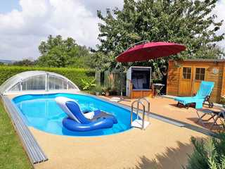 Ferienwohnungen Fürstenwerder SEE 4160 Pool