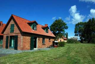 Rügener Ferienhäuser mit Kamin *** Objektansicht
