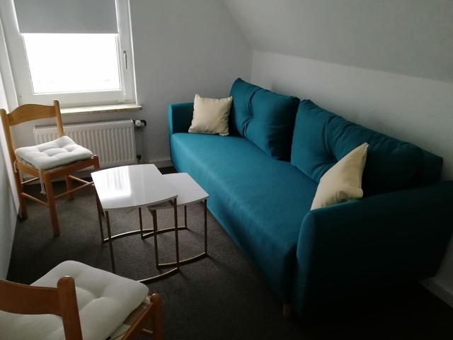 kleines Wohnzimmer Krähennest