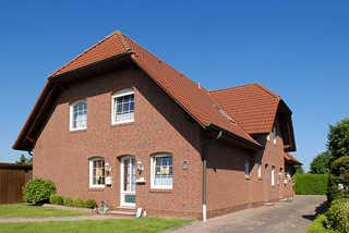Ferienhaus Nordseerose Außenansicht