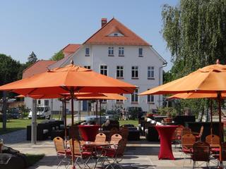 Hotel & Restaurant Am Peenetal Innenhof