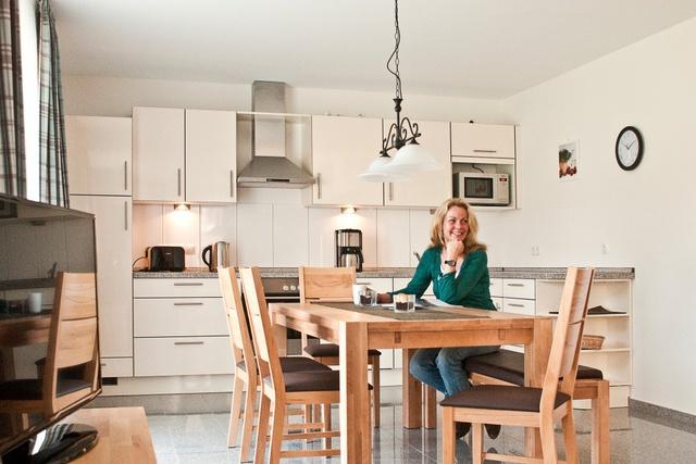 Kapitänshaus: geräumige Wohnküche