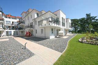 MZ: Haus Meeresblick A 2.11 Sonnendeck mit Balkon Hausansicht