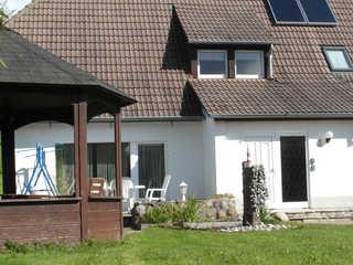 FeWo Schröder-Mühlau Blick auf das Haus