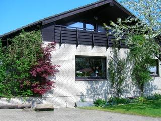 Ferienwohnung Zum Waldseebad Außenansicht der Ferienwohnung